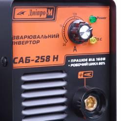 Сварочный инвертор Дніпро-М САБ-258Н